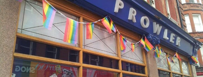 Prowler Soho is one of Gay venues.