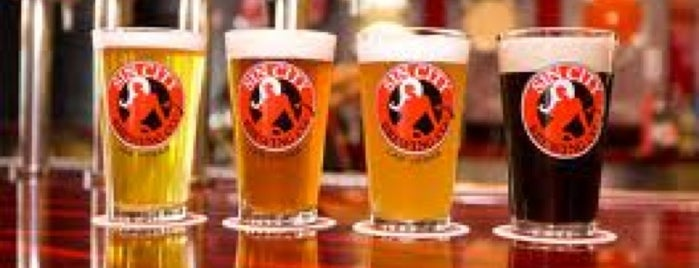 Sin City Brewing Co. is one of 7 New Vegas!.