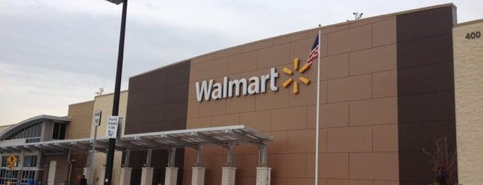 Walmart Supercenter is one of Secaucus.