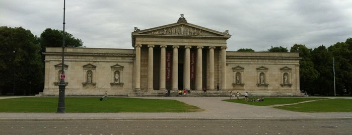 Königsplatz is one of StorefrontSticker #4sqCities: Munich.
