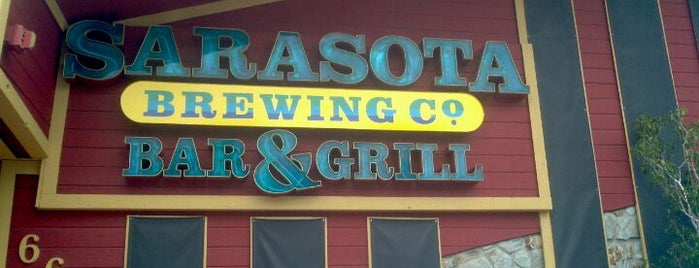 Sarasota Brewing Company is one of Cafés and Restaurants.