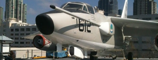 USS Midway Museum is one of Keeping It Local:  10 Must See Places in SD.