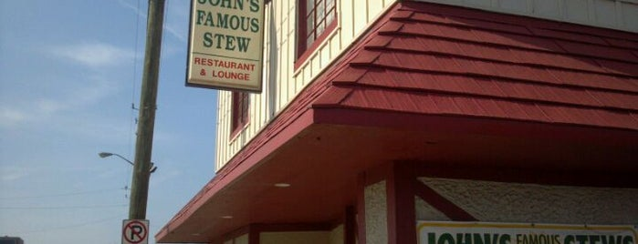 John's Famous Stew is one of A foodie's paradise! ~ Indy.
