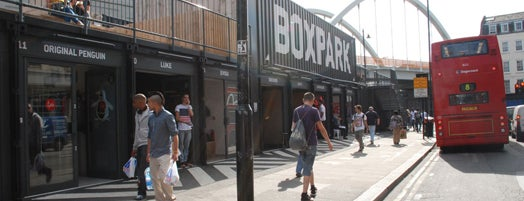 BOXPARK Shoreditch is one of London, I'm not a tourist, but a mobile citizen.