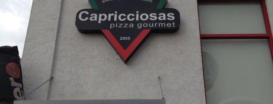 Capricciosas pizza gourmet is one of Restaurants.