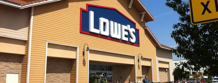 Lowe's Home Improvement is one of FAVORITES.