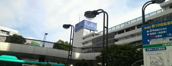 Tobu Department Store is one of 立ち寄り先.