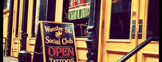 Wooster St Social Club is one of NY.