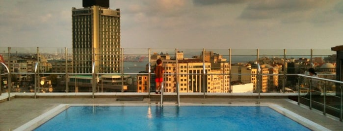 Gönen Hotels Taksim is one of İSTANBUL OTELLER 🏩.