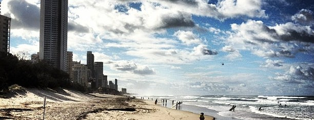 Surfers Paradise Beach is one of Oz.