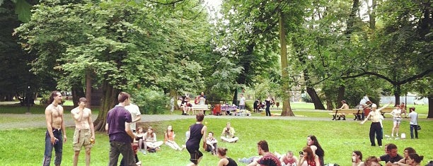 Park im. F. Chopina is one of Silesian Green Outdoors.