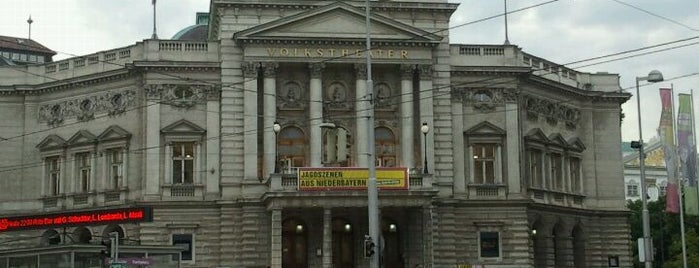 Volkstheater is one of StorefrontSticker #4sqCities: Vienna.