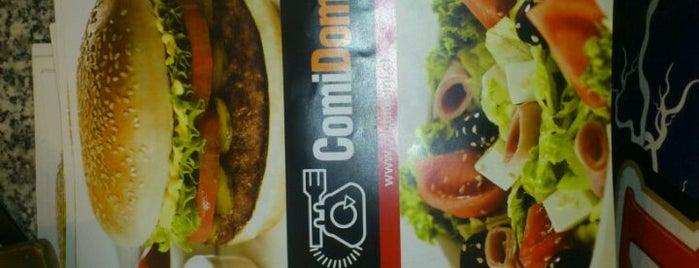 Sandwich Delivery Comidomi is one of Restaurantes, Bares, Cafeterias y el Mundo Gourmet.