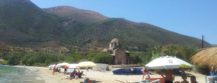 Agia Varvara Beach is one of Must-visit Beaches in Laconia.