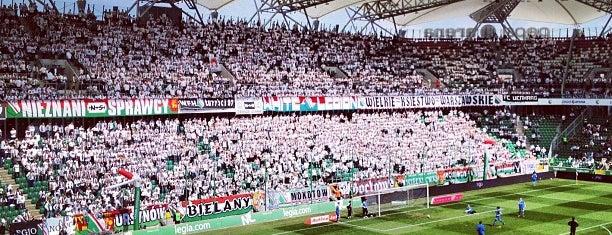 Stadion Miejski Legii Warszawa im. Marszałka Józefa Piłsudskiego is one of Top 10 favorites places in Warszawa, Polska.