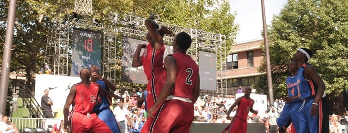 Popular Basketball Courts in NYC Parks