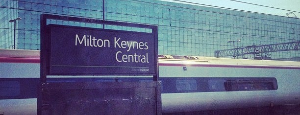 Milton Keynes Central Railway Station (MKC) is one of MKGN All Dayer 2014.