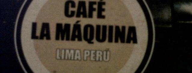 """Café La Máquina is one of Cafés """"Info Llama""""."""