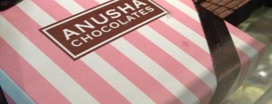 Anusha Chocolates Café is one of Cafés em São Paulo.