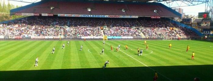 Stade du Pays de Charleroi is one of Jupiler Pro League and Belgacom League - 2013-2014.
