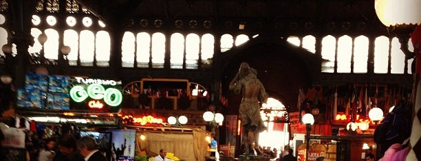 Mercado Central is one of Santiago, Chile.