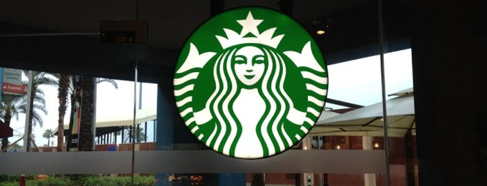 Starbucks is one of Curaçao places.
