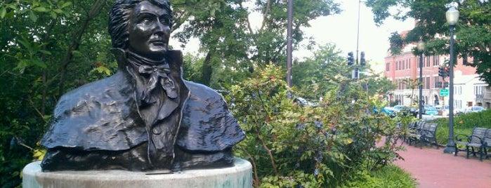 Francis Scott Key Memorial Park is one of Washington DC.