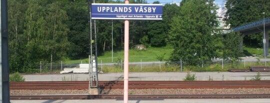Upplands Väsby (J) is one of SE - Sthlm - Pendeltåg.