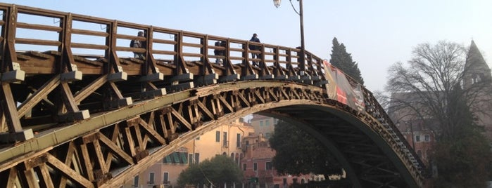Ponte dell'Accademia is one of Italis.