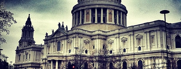 St Paul's Cathedral is one of Around The World: London.