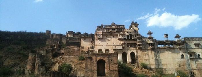 Garh Palace Bundi is one of Destination of the Day.