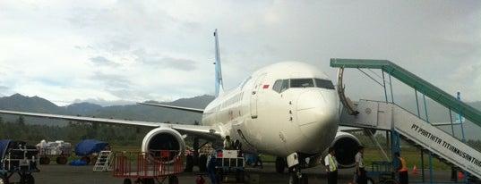 Bandara Mutiara SIS Al Jufri Palu (PLW) is one of Indonesia's Airport - 1st List..