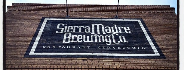 Sierra Madre Brewing Co. is one of 20 favorite restaurants.