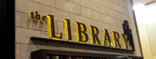 The Library is one of Bars for Chillaxing.