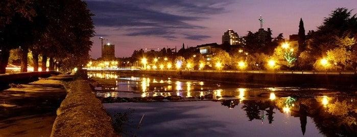 Набережная реки Сочи / Sochi River Embankment is one of Сочи @ chaluskin.ru.
