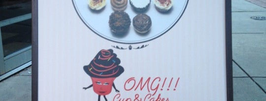 OMG!!! Cup & Cakes is one of Desserts & Bakeries.