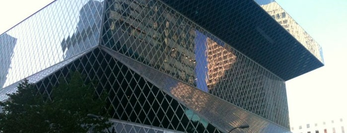 Seattle Central Library is one of Seattle Bucketlist.