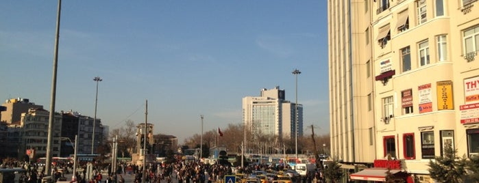 Taksim Square is one of Istanbul.