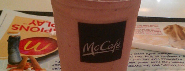 McDonald's / McCafé is one of Food and Drinks.