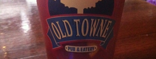 Old Town Pub and Eatery is one of Official Blackhawks Bars.