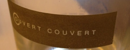Couvert Couvert is one of My Personal Shortlist of Restaurants.
