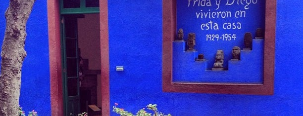 Museo Frida Kahlo is one of Mexican favorites.
