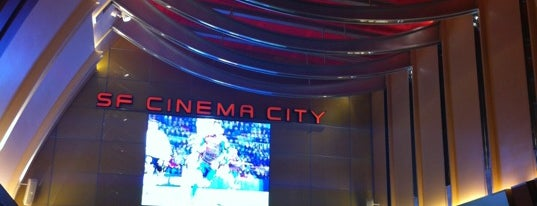 SF Cinema City is one of Movie Theaters  (Worldwide).