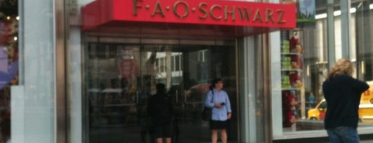 FAO Schwarz is one of Ultimate NYC Nerd List.