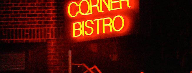 Corner Bistro is one of To Do.