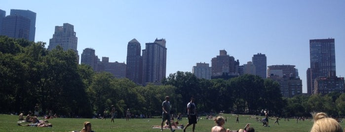 Central Park is one of Dream Destinations.