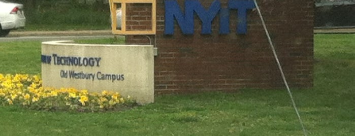 New York Institute of Technology (NYIT) - Old Westbury Campus is one of favorite places.
