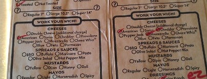 Which Wich? Superior Sandwiches is one of just here.