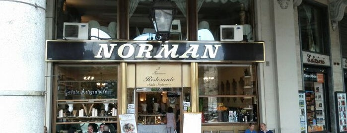 Norman is one of Caffe/ Gelateria.