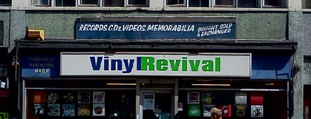 Vinyl Revival is one of Ziggy goes to Manchester.